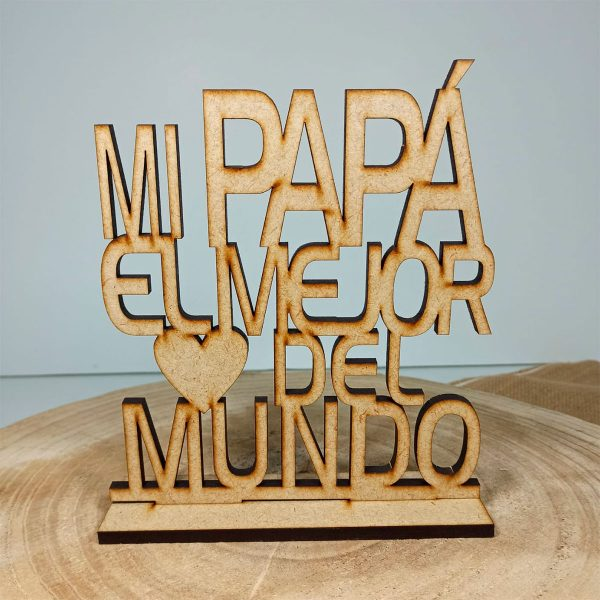 Trofeo para Papá personalizado