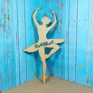 silueta danza bailarina