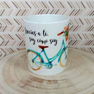 Taza bicicleta